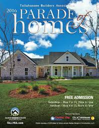 City Of Tallahassee Utility 2016 Tallahassee Parade Of Homes By Tba Tallahassee Builders