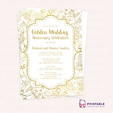 wedding anniversary invitations in spanish