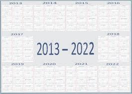 New Year 2013 2014 2015 2016 2017 2018 2019 2020 2021
