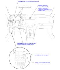 Here is a picture of the location of the flasher it is located in the under dash fuse panel