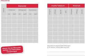 Blutdrucktabelle morgens mittags abends schweiz : Mein Personliches Diabetes Tagebuch Pdf Kostenfreier Download