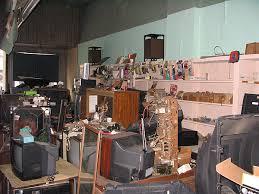 tv repair shop. photos by michael feldt tv repair shop