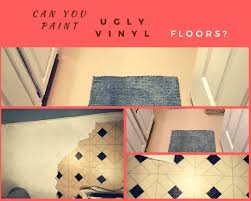 can you really paint vinyl or linoleum floors