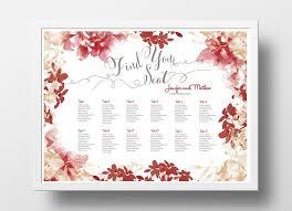 Wedding Seating Chart Poster Diy Editable Powerpoint
