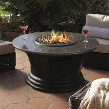 propane fire pit table set. furniture : awesome exterior design with round propane fire pit table granite top and wicker set