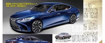 2018 lexus ls. modren lexus 2018 lexus ls xf50 what to expect from the fifth generation of sedan   autoevolution inside lexus ls