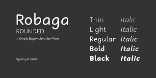 Atma is a trademark of fsi fontshop international gmbh. Robaga Rounded Font Family 1001 Fonts