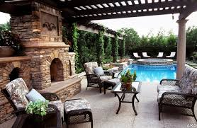 outdoor fireplace paver patio:  patio design ideas for your backyard worthminer