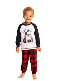 Jammin Jammies Size Chart Family Holiday Pajama Party Matching Pajama Sets Long Sleeve Top Pj Pants