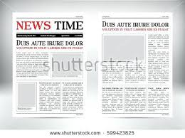 Newspaper Background Template Lccorp Co