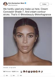 no makeup many celebrities are often criticized for the amount of makeup they wear and kim kardashian is no exception recently she took to social a