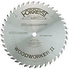 forrest blades. forrest woodworker ii #1 grind saw blade 10\ blades m