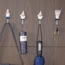 2019 lemonbest kitchen cartoon chef style resin power cord storage rack wall mount cloth towel hooks from fair2016 25 85 dhgate com