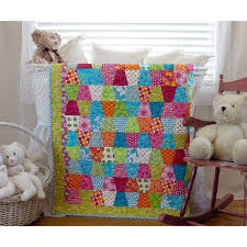 sew and tell & GO! Tumbler Baby Quilt Adamdwight.com