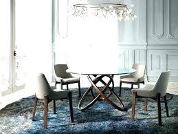 modern round glass dining tables modern round dining table modern round dining table view larger gallery