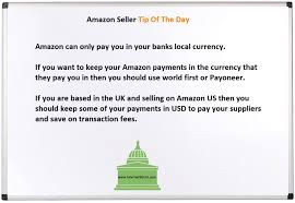 receiving amazon payments for international sellers