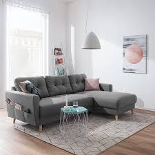 Ecksofa Sola Flachgewebe In 2019 Ecksofa Wohnung Sofa Und