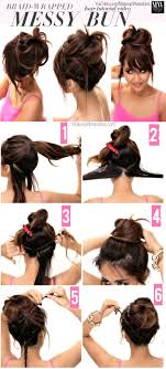 Different Bun Hairstyles 25 Best Ideas About Perfect Messy Bun On Pinterest Messy Hair