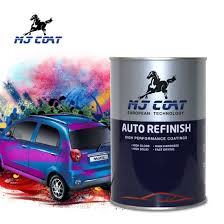 China Suppliers High Gloss Metallic Blue Car Paint Color