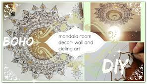 youtube premium on wall art diy youtube with diy mandala wall ceiling art decor boho youtube