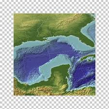 Gulf Of Mexico Persian Gulf Map Dauphin Island Sea Lab Png