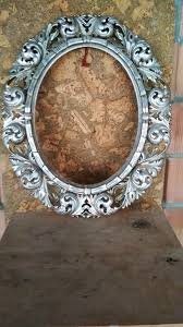 oval mirror frame. +1 Oval Mirror Frame