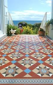 porch tile flooring patchwork tiles mix and match your favorite colors for a personalized look porch