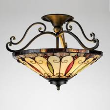 styles of lighting. Unique Lighting Our Tiffany SemiFlushMount Ceiling Lights Offer So Many Different Styles  Shapes And Motifs That You Will Be Hardpressed To Select Only One In Styles Of Lighting