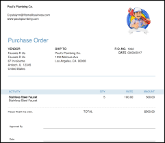 What Is A Purchase Order Number Free Purchase Order Template Instructions How To Create A