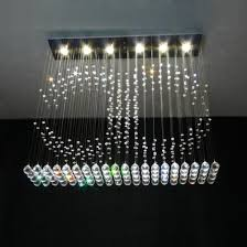 led modern crystal chandeliers pendant lightings for restaurant 8027 6