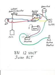 ford 8n wiring schematic wiring diagram 8n ford tractor wiring diagram 6 volt wire