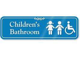 bathroom boy sign. children bathroom engraved sign boy r