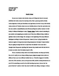 essay about family