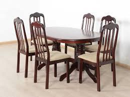 Oval Shape Dining Table Design T2a Livez Six Seater Dining Table Set Oval Shaped