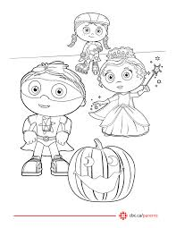 Small Picture Super Why Coloring Page Coloring Printable of Super Why Coloring