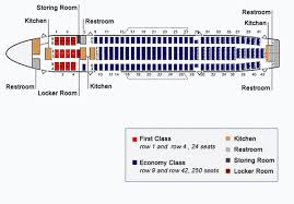 Airbus Seating Chart Airbus A300 Seating Chart Free Printable Birthday