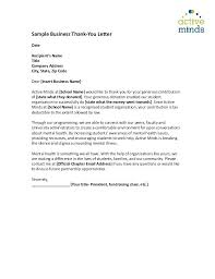 Thank You Letter For Food Donation Sample Solicitation Letters Astounding Thank You Letter For