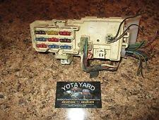 toyota pickup fuse box ebay 89 Toyota Pickup Fuse Box 89 95 toyota pickup hilux 4runner engine fuse panel relay box block yota yard 89 toyota pickup fuse box