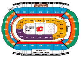 78 Specific Saddledome Hockey Seating Chart
