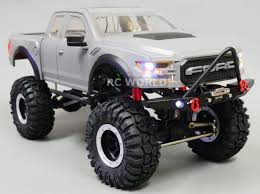 RC Scale Truck Body Shell 1/10 FORD RAPTOR Pick Up Truck Hard Body ...