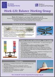 work life balance bps working external organisations wfrn