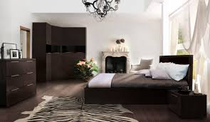 white bedroom with dark furniture. Cool White Bedroom Dark Furniture With E