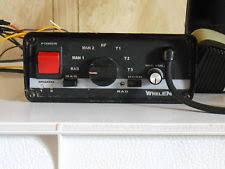 whelen electronic siren 295hf100 whelen 295slsa1 and federal signals m100 emergency siren set