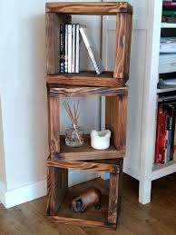 cube shelf unit chunky solid wood 3 cube shelf unit wall freestanding new recycled reclaimed in