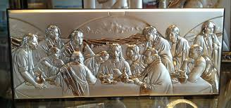 large last supper wall art
