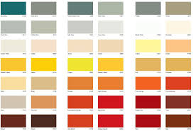 International Paint Color Chart Car Tuning Lentine Marine