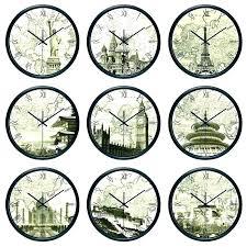 time zone wall clocks enjoy zones clock world diffe