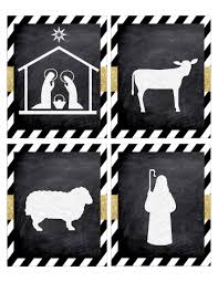 nativity silhouette printable. Plain Silhouette Click The Following Links To Print Christmas Nativity Banner Free  Printable In Silhouette U