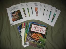 Kitchen Gardener Magazine Kitchen Garden Gardener Magazine Complete Collection Harvest