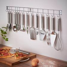 Kitchen Utensil Storage Vonshef 12 Piece Stainless Steel Kitchen Utensils Gadget Set